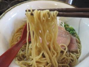 醤油@yagu-noodle(住吉駅)麺