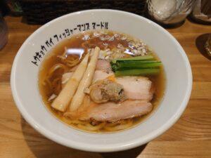醤油らぁ麺@Tokyo Bay Fisherman's Noodle 茅ヶ崎店(茅ヶ崎駅)ビジュアル