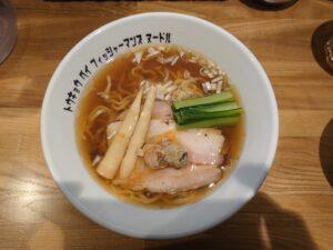 醤油らぁ麺@Tokyo Bay Fisherman's Noodle 茅ヶ崎店(茅ヶ崎駅)ビジュアル:トップ