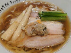 醤油らぁ麺@Tokyo Bay Fisherman's Noodle 茅ヶ崎店(茅ヶ崎駅)具