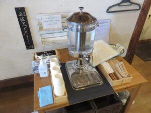 醤油(手揉み麺)@空の青とひまわり畑(上北台駅)セルフサービス