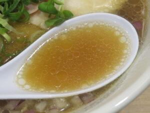 中華そば 醤油@貝麺みかわ(下北沢駅)スープ