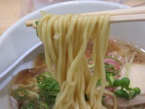 中華そば 醤油@貝麺みかわ(下北沢駅)麺