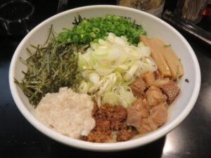極麺龍まぜそば@まぜそば専門 龍虎の麺(亀有駅)ビジュアル