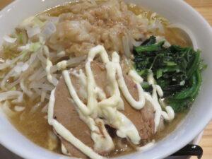 ラーメン 醤油(中太麺)@成り上がれ 亀有店(亀有駅)具