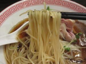 醤油メン@ヌードルボウズ n坊(浅草橋駅)麺
