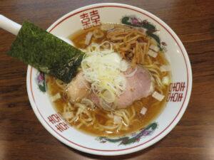 煮干しそば@麺庵 大和(曙橋駅)ビジュアル:トップ