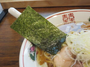 煮干しそば@麺庵 大和(曙橋駅)具:海苔