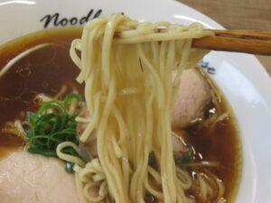 らぁ麺@麺庵ちとせ(風祭駅)麺