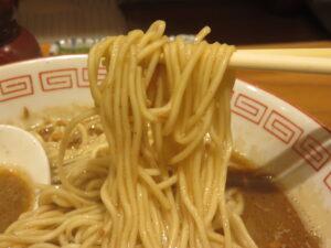 炭火焼濃厚中華そば 烏賊@炭火焼濃厚中華そば 海富道(神田駅)麺