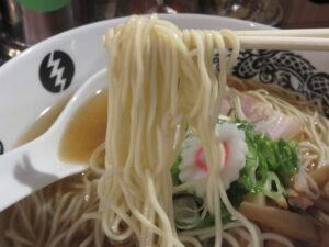 煮干し中華ソバ@中華ソバ 燜tana 上石神井店(上石神井駅)麺