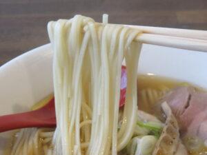 稲庭中華そば(醤油)@稲庭中華そば 秋田本店(秋田駅)麺