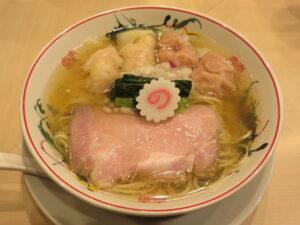 白だしワンタン麺@金龍(淡路町駅)ビジュアル