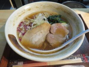 醤油らぁ麺@貝出汁らぁ麺 みぎわ(大宮駅)ビジュアル