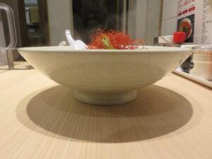 南ばん麺(メチャ辛)@南ばん亭(落合駅)ビジュアル:サイド