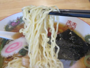 中華そば@青空食堂(国分寺駅)麺