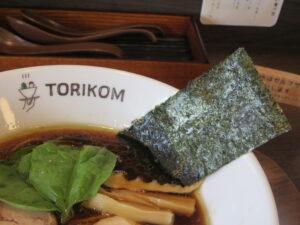醤油@TORIKOM(神奈川県横浜市)具:海苔