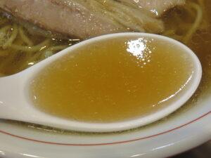 ラーメン@中華そば すばる食堂(坂戸駅)スープ