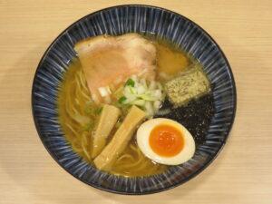 塩らーめん@煮干しらーめん 田中にぼる(武蔵新城駅)ビジュアル:トップ