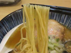 塩らーめん@煮干しらーめん 田中にぼる(武蔵新城駅)麺