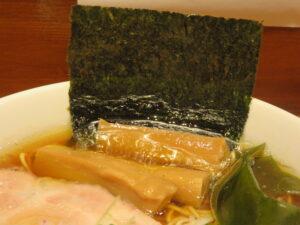 中華そば@拉麺 伍年食堂(横浜駅)具:海苔