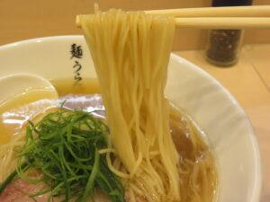 塩SOBA@麺うらた(自由が丘駅)麺