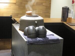 担々麺(中太麺)@茶麺房 貴勇(大手町駅)茶釜