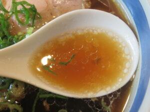 しょうゆらーめん@ラーメン トウカンヤ(一之江駅)スープ