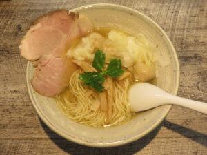 ワンタンメン(塩)@麺食堂 くにを(国分寺駅)ビジュアル:トップ