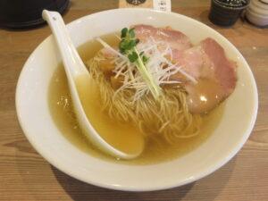 だし麺 塩@だし麺屋 ナミノアヤ(上野毛駅)ビジュアル