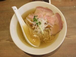 だし麺 塩@だし麺屋 ナミノアヤ(上野毛駅)ビジュアル:トップ