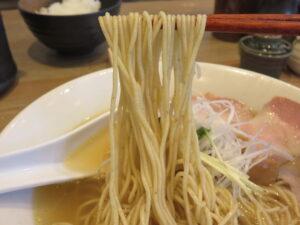 だし麺 塩@だし麺屋 ナミノアヤ(上野毛駅)麺
