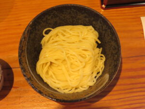 小麦三昧(冷やしらーめん)@らーめん 芝浜(下新田駅)つけめん:ビジュアル:トップ
