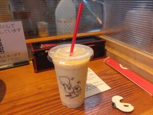 小麦三昧(冷やしらーめん)@らーめん 芝浜(下新田駅)スムージー