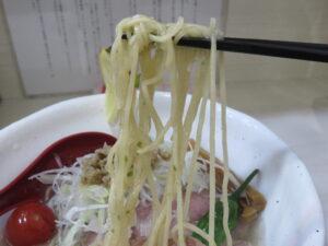 青唐の冷やし麺@麺や 魁星(関内駅)麺