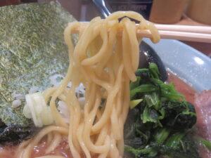 らーめん@横浜家系らーめん 侍 渋谷本店(渋谷駅)麺