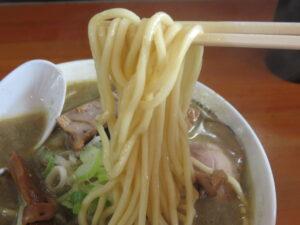 こいくち(中)@中華そば ひらこ屋(津軽新城駅)麺