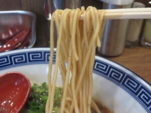 中華そば@徳島ラーメン はるま(新宿西口駅)麺