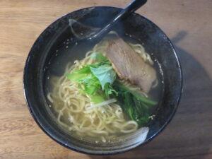鯛骨塩らーめん@居酒屋 白兵衛(西武新宿駅)ビジュアル:トップ