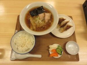 中華そば@中華蕎麦 蒼屋(中野富士見町駅)ビジュアル:定食A