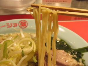 ネギラーメン(白) 醤油 小@ラーショ マルミャー(池袋駅)麺