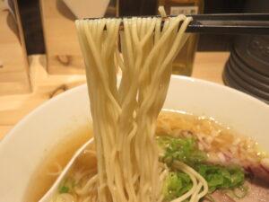 塩@なか乃中華そば(中央林間駅)麺