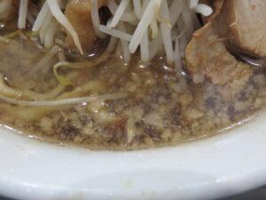ラーメン@夢を語れ 千葉(京成津田沼駅)スープ