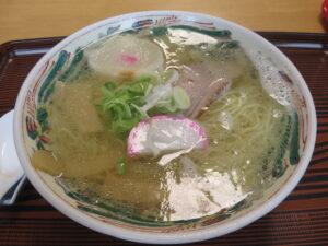 塩ラーメン@ひとしの店(稚内駅)ビジュアル