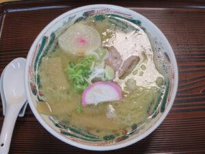 塩ラーメン@ひとしの店(稚内駅)ビジュアル:トップ