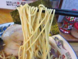 正油らぅめん@旭川らぅめん青葉 本店(旭川駅)麺